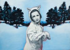 all_dressed_up_baby_its_cold_outside-maleri-painting-goje-rostrup-2010