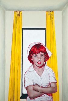 all_dressed_up_night_nurse-maleri-painting-goje-rostrup-2010