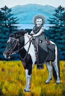 all_dressed_up_space_cowboy-maleri-painting-goje-rostrup-2010