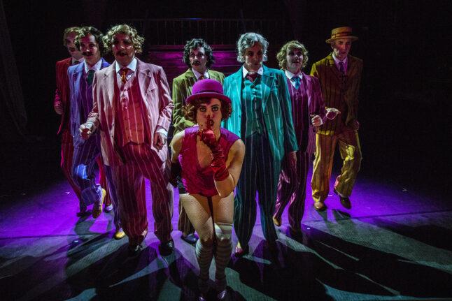 Cabaret 1 Rogaland Teater kostumedesign costume esign Goeje Rostrup foto Grethe Nygaard